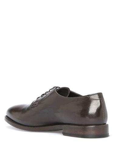 Officine Creative %100 Deri Bağcıklı Klasik Ayakkabı Kahve